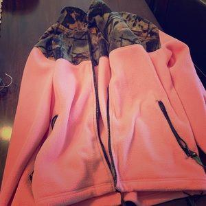 Jackets & Blazers - Pink camo jacket